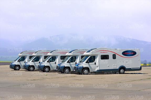 Autokaravany spoločnosti POLARUS