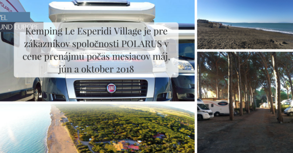 Le Esperidi Village Camping offer