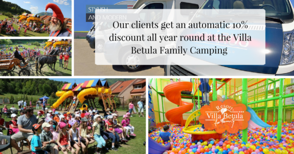 Villa Betula Family Camping offer